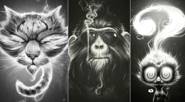 Lukas Brezak – Wunderschöne Illustrationen