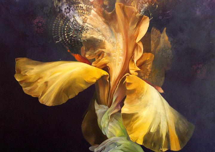 Blumengemälde des Künstlers Carmelo Blandino