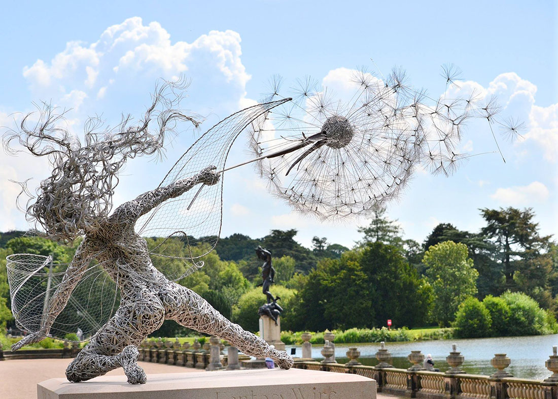 Skulpturen Aus Draht Von Robin Wight Kunstlab