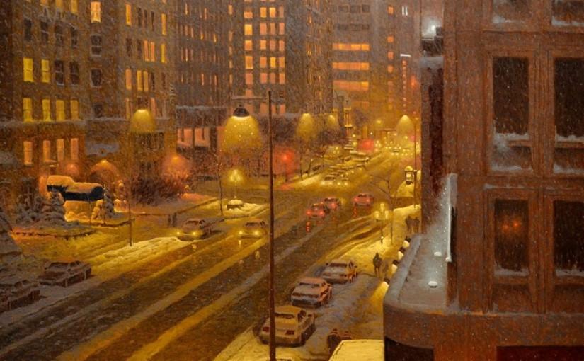 Winterlandschaften von Richard Savoie