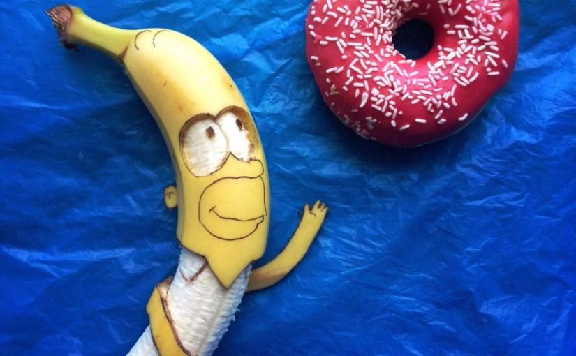 Bananenkunst von Stephan Brusche