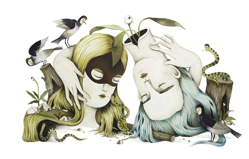 Geschichten aus Aquarell von Andrea Wan