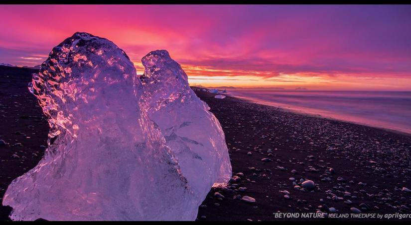 Die überwältigende Natur Landschaft von Island