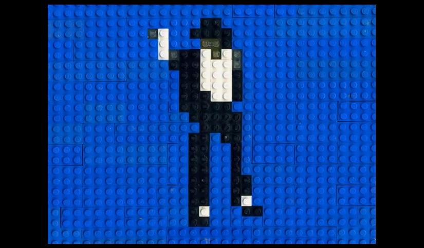 Michael Jackson Lego-Tanz von Annette Jung