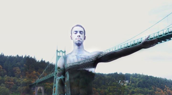 Körperkunst-Landschaften von Natalie Fletcher