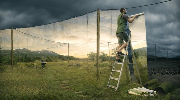 Surreale Landschaften von Erik Johansson
