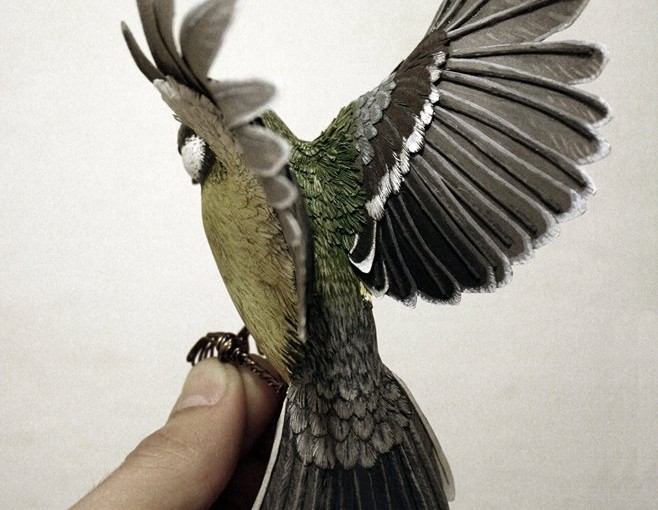 Erstaunliche handgemachte Vogel-Skulpturen von Zack McLaughlin