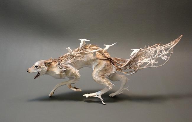 Tierskulpturen von Ellen Jewett