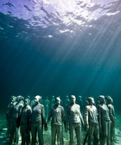 Spektakuläre Unterwasser-Skulpturen von Jason de Caires Taylor