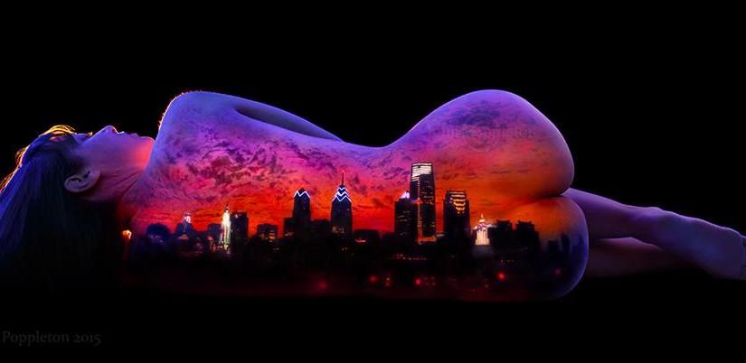 Fluoroszenzbilder von John Poppleton