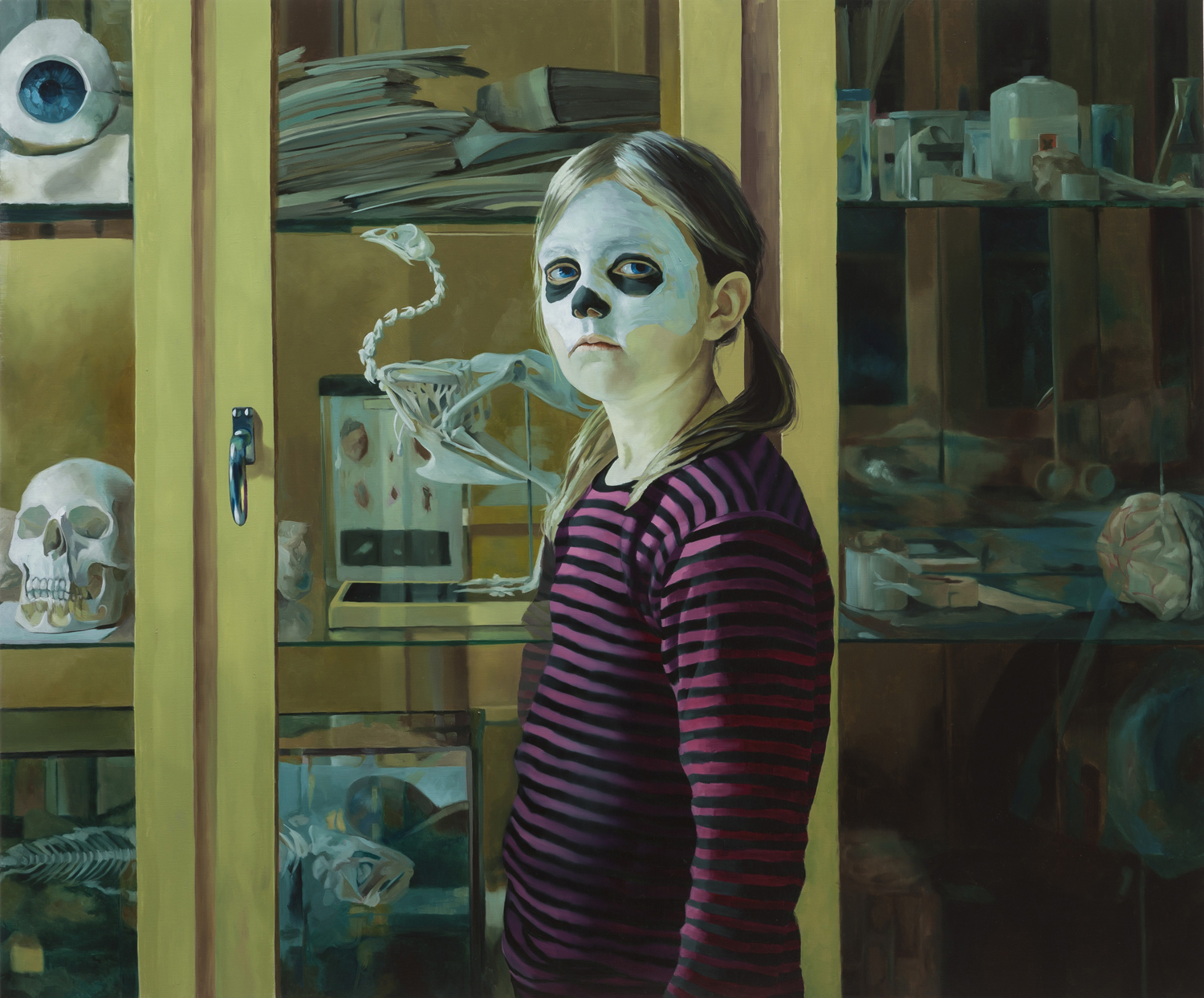 Psychopomp-Club-in-front-of-the-cabinet-2014-oil-on-linen-100x120cm-web