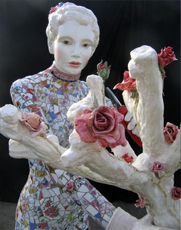 Keramikskulpturen von Patrick Bergsma