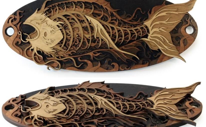 Holzkunst von Martin Tomski