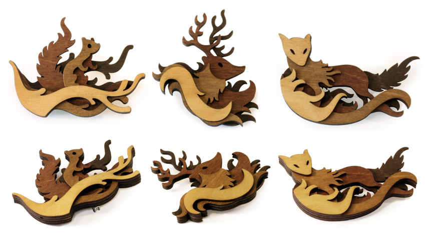 woodland_brooches_by_mtomsky-d6vurt4