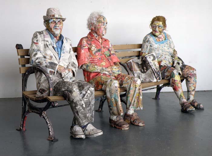 Großartige Skulpturen von Will Kurtz