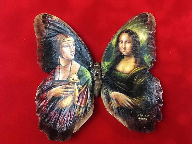 Die Malerei auf den Flügeln der Schmetterlinge von Cristiam Ramos