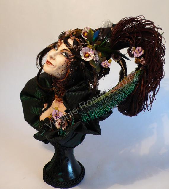 Puppenkunst von Virginie Ropars
