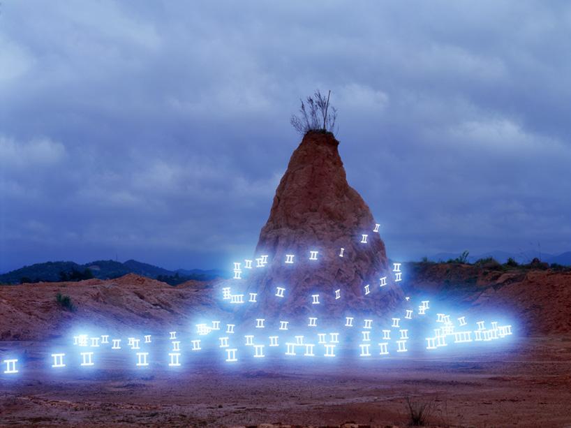 Lichtmalerei von Lee Jeong Lok