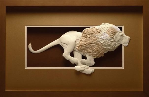 Unglaublich schöne Tierskulpturen Calvin Nicholls