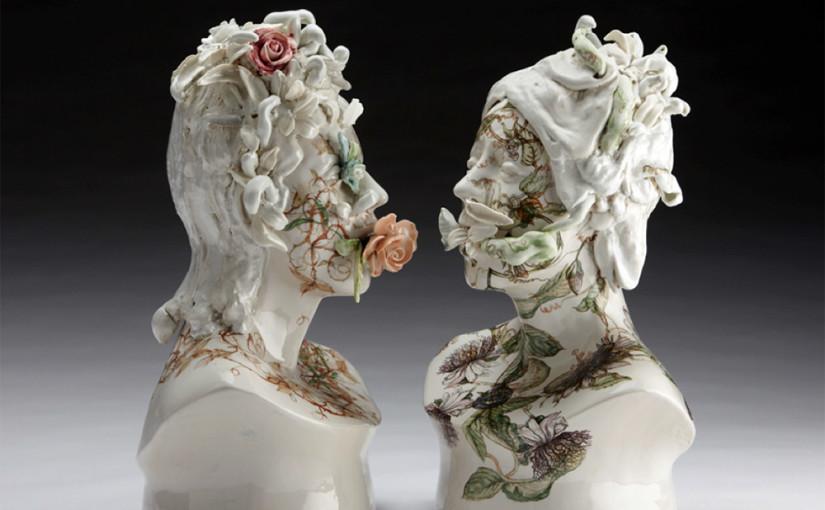 Keramikskulpturen von Jess Riva Cooper