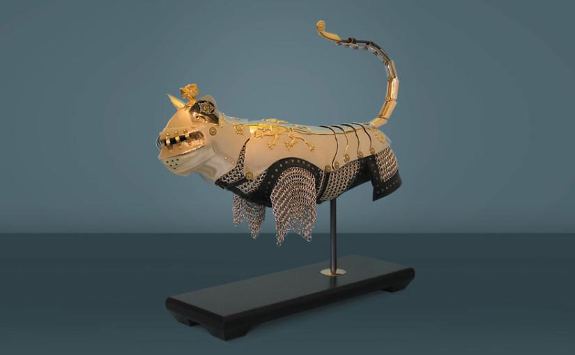 Rüstungen für Katzen und Mäuse von Jeff de Boer