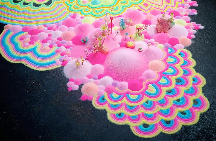 Zuckerlandschaften von Tanya Schultz