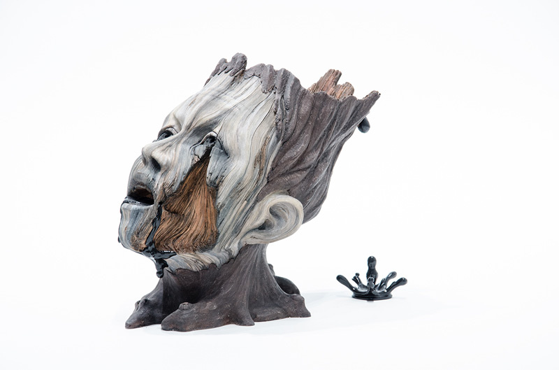 Die hölzerne Keramik von Christopher David White