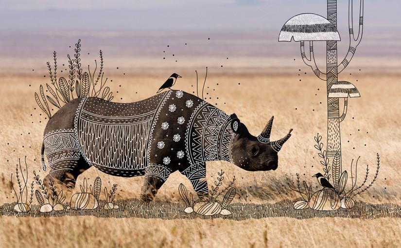Animal Doodles von Rohan Sharad Dahotre