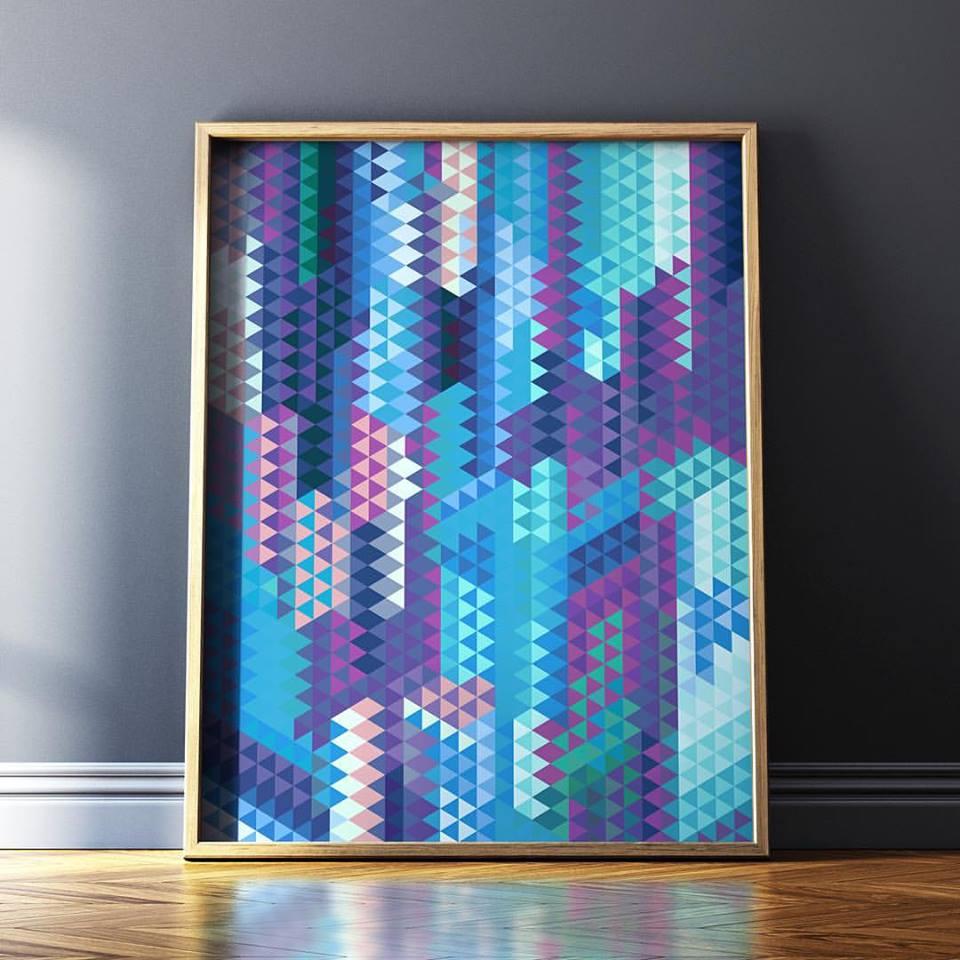 Farbenfrohe Kunstwerke von Francisco Valle
