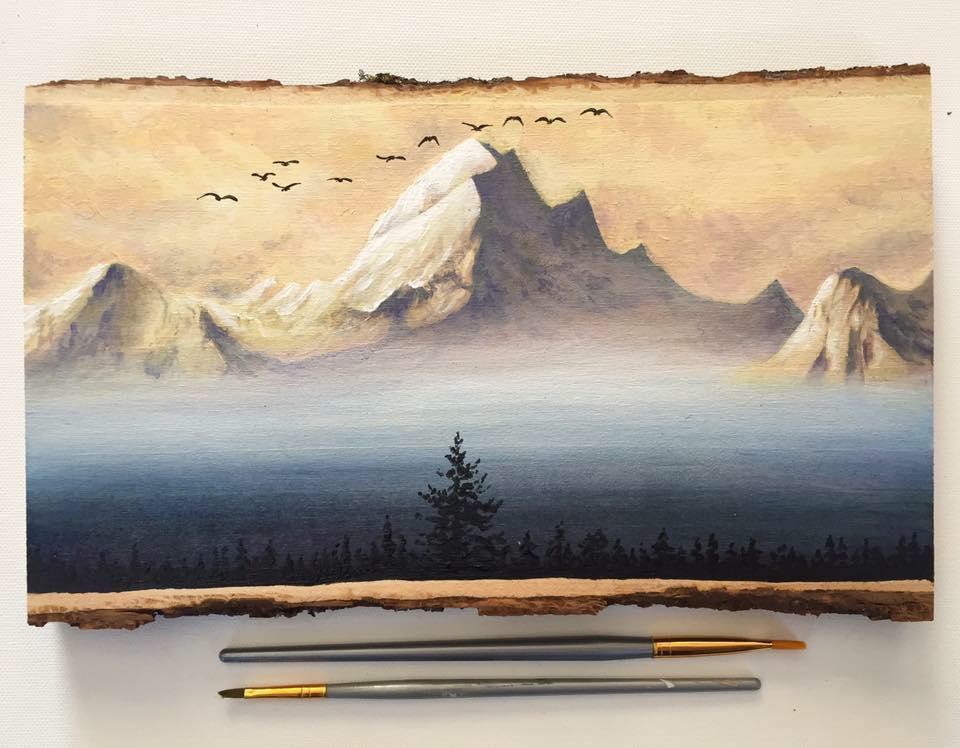 Naturinspirationen von Alyse Dietel. Malerische Berge