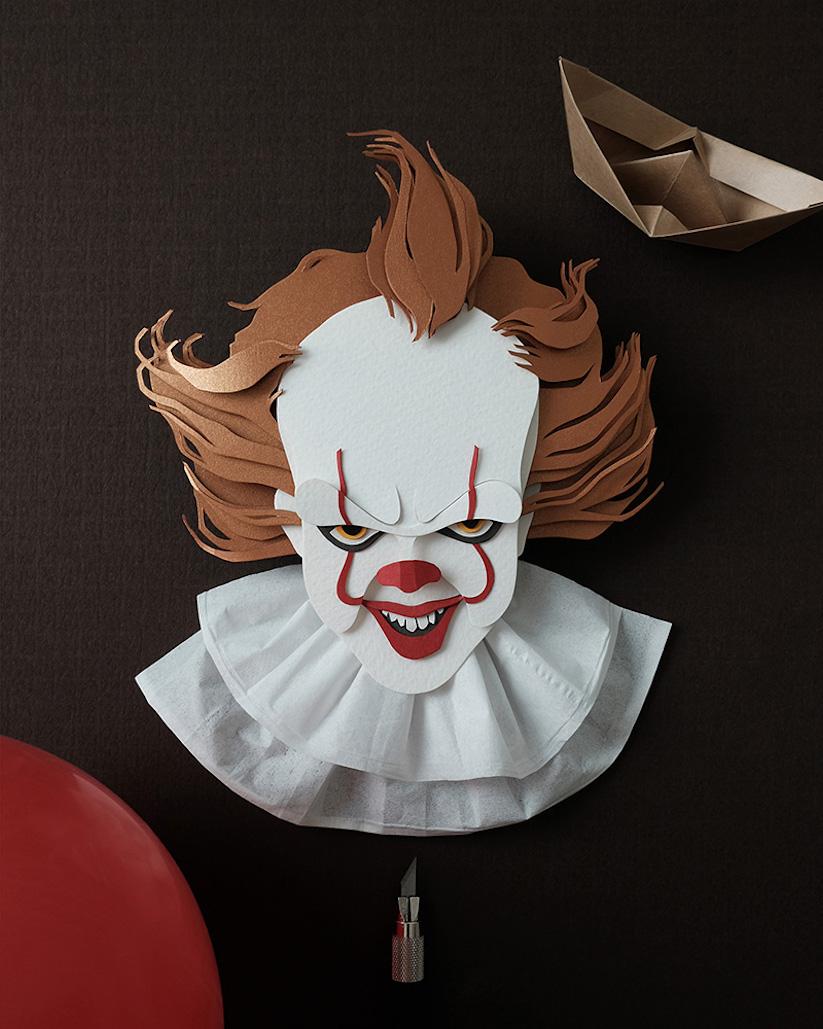 Berühmte Charaktere - Böser Clown - Clown Pennywise - Es