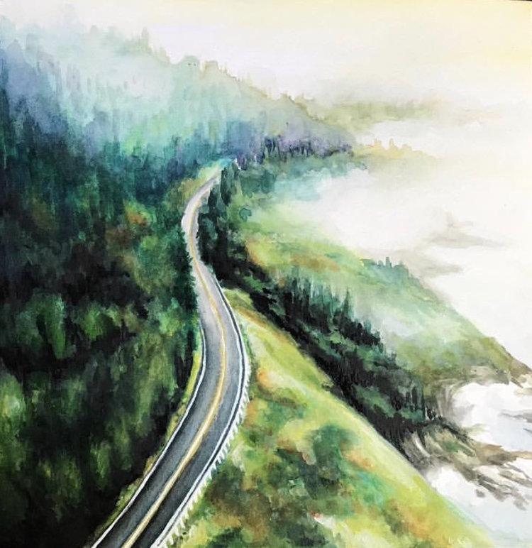 """Oregon Road"""