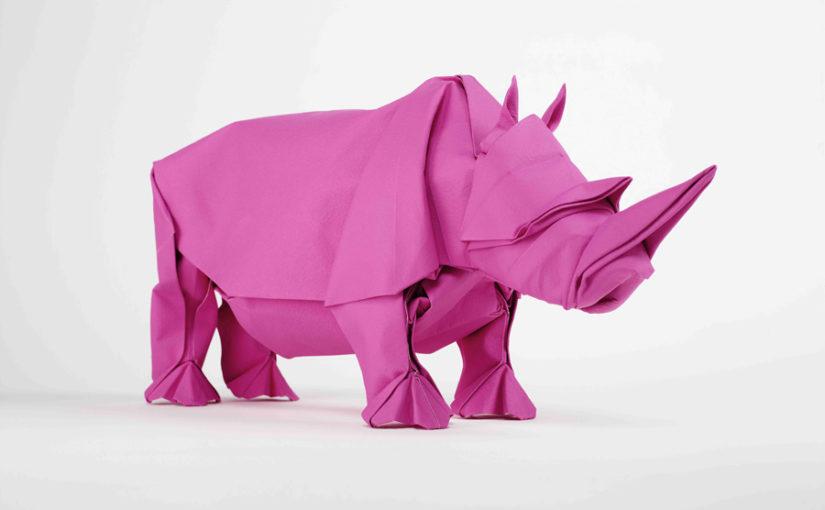Wunderbare Origami-Kunstwerke von Sipho Mabona
