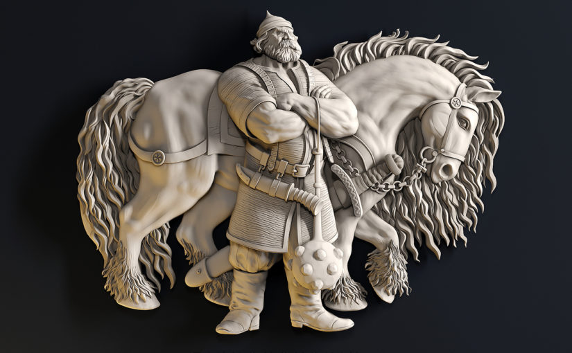 Fabelhafte 3D-Modelle von Yuriy Tikhonovskiy