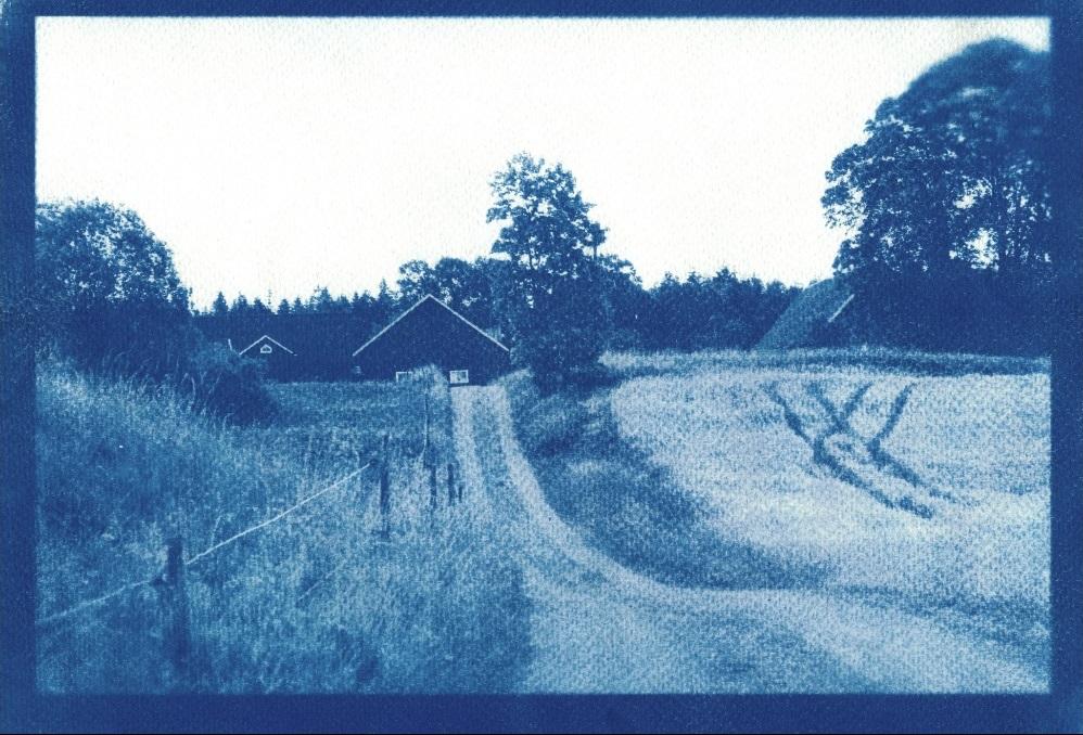 Mysteriöse analoge Fotografien von Jeannette. Schweden