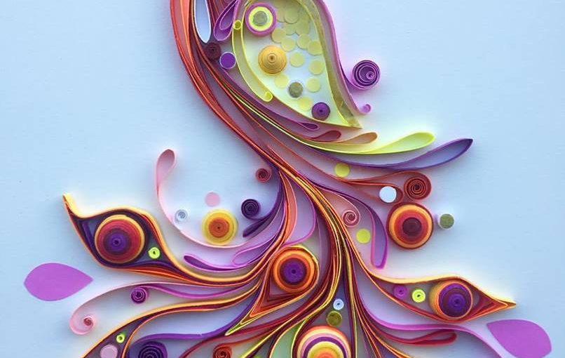 Bezaubernde Quilling-Papierkunst von Angelica Botero
