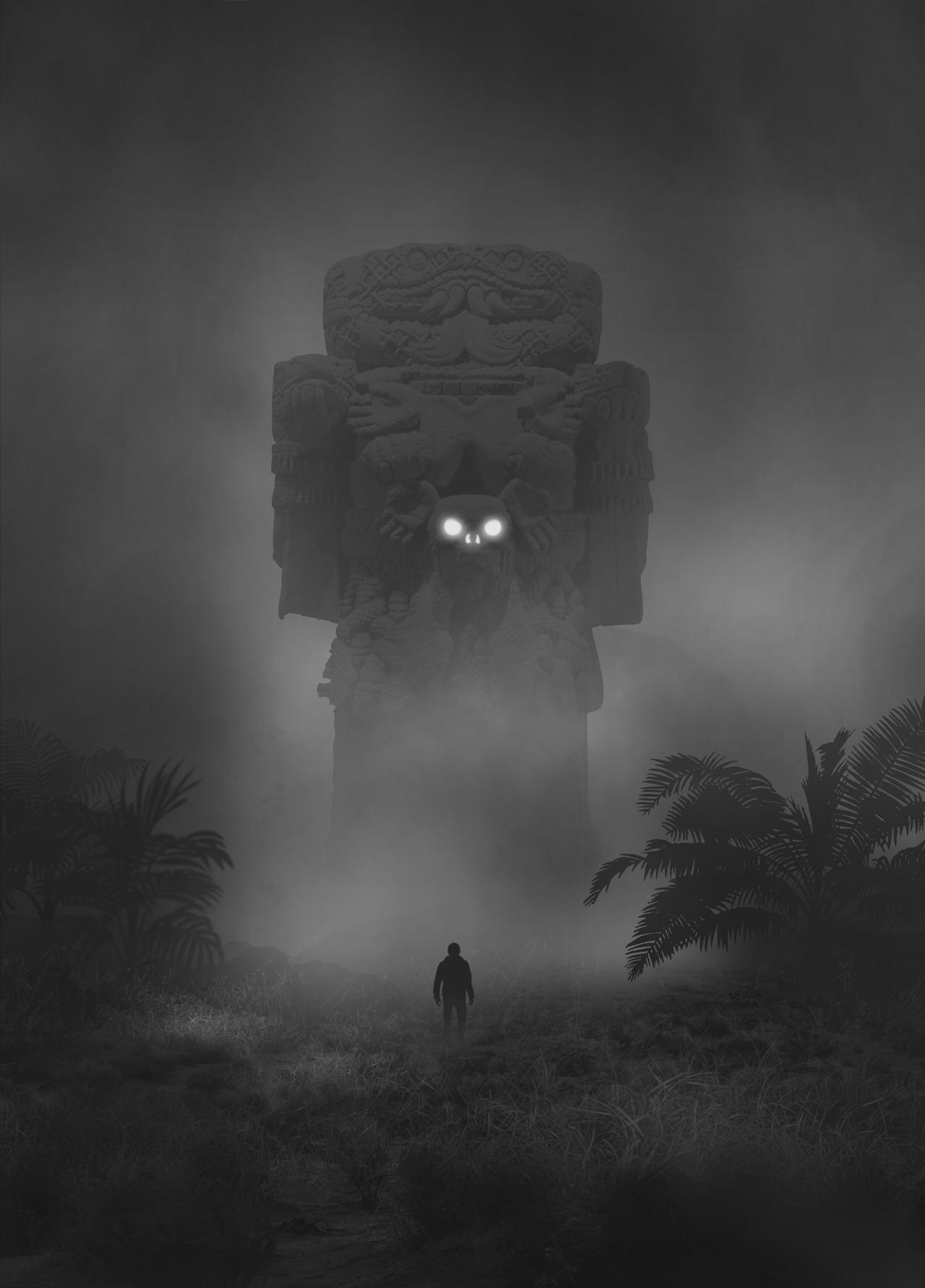 Mysteriöse digitale Bilder von Dawid Planeta