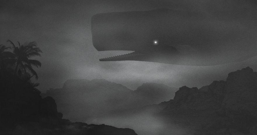 Mysteriöse Digitalbilder von Dawid Planeta_Pottwal