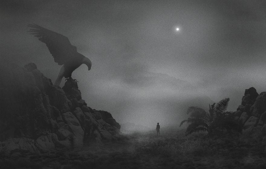 Mysteriöse Digitalbilder von Dawid Planeta