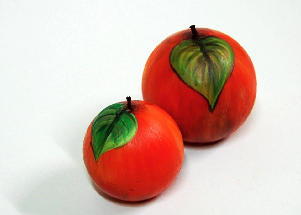 Apfelkerzen