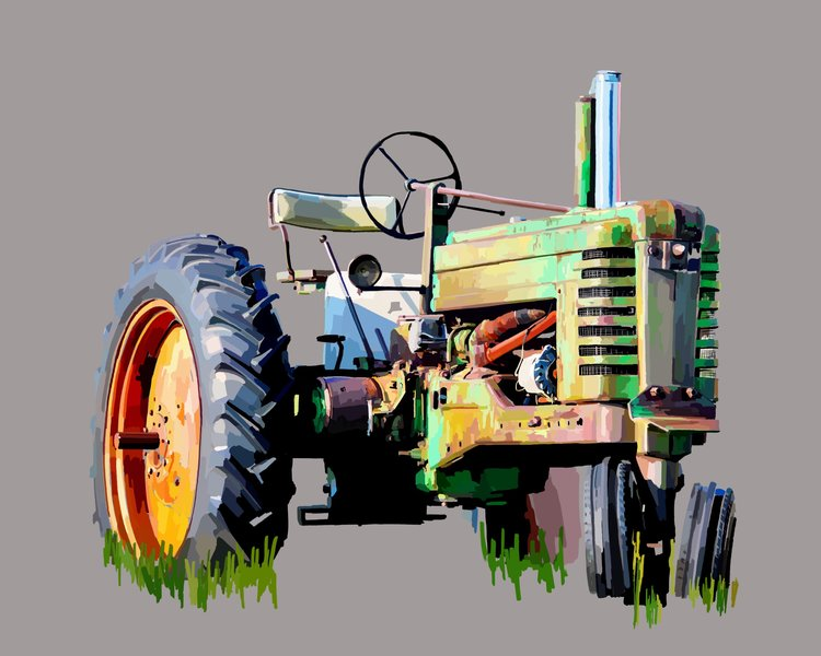 """Green Tractor"""