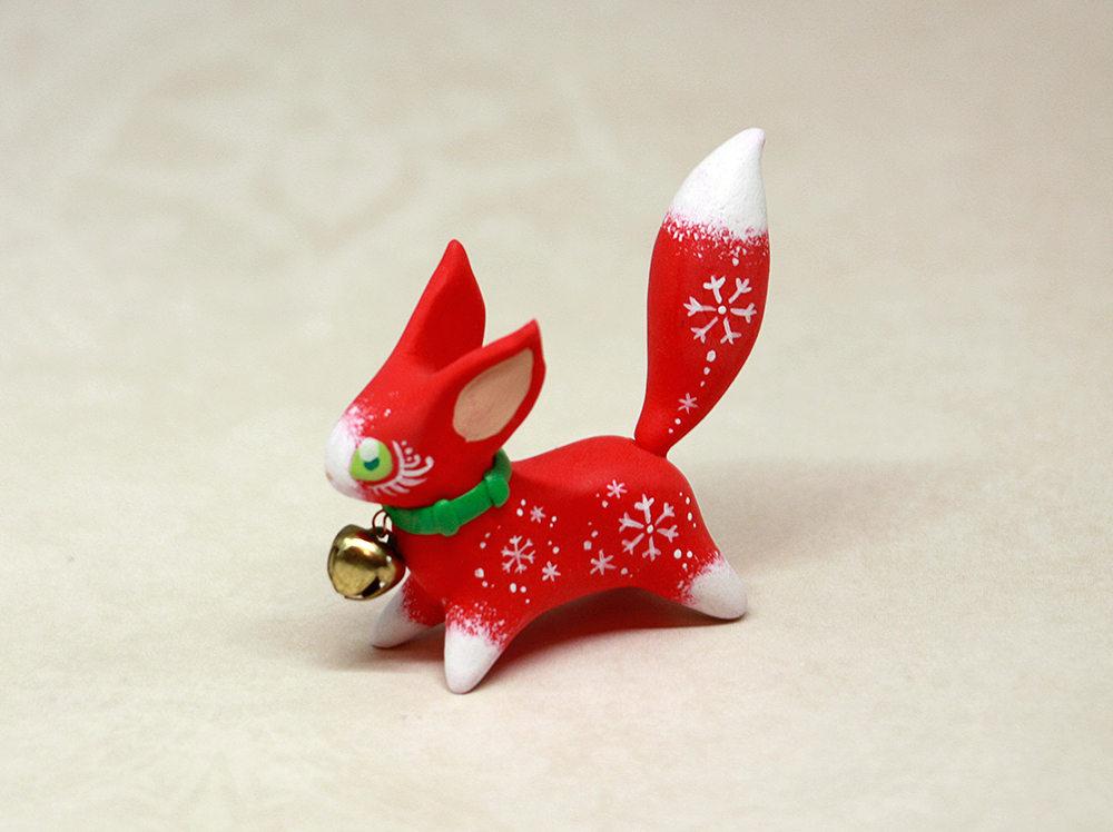 """Jingle Bell Schneeeichhörnchen"""