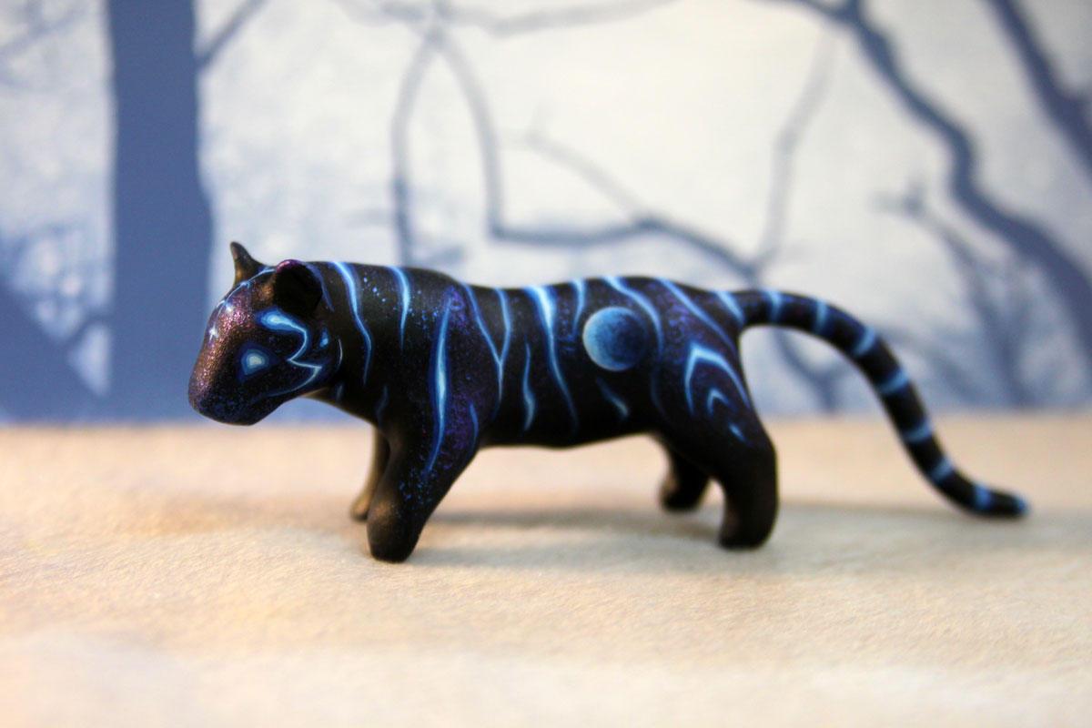 """Tiger Paradies Katze"""