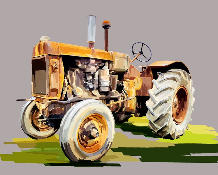 """Yellow Tractor"""