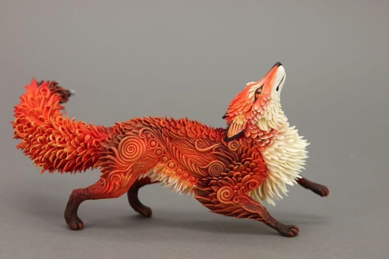 Fabelhafte Fantasy-Tiere von Evgeny Hontor_Roter Fuchs