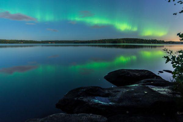 Malerische Landschaftsfotografien von Oscar Keserci_Polarlicht
