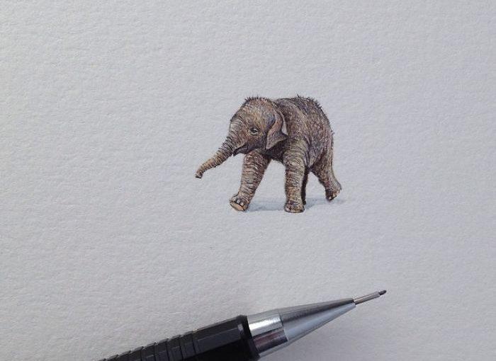 Klitzekleine Miniaturbilder von Brooke Rothshank