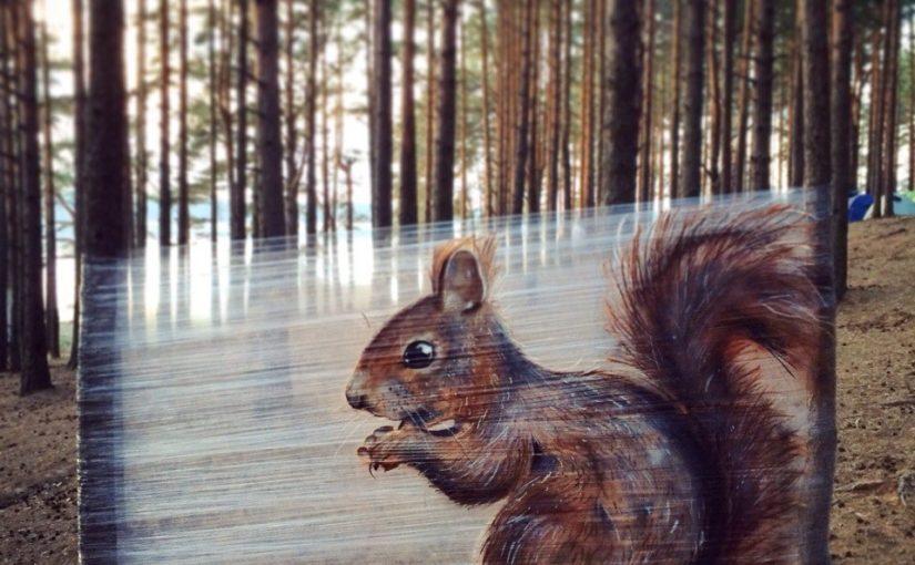 Tolle Cellograffiti-Werke von Evgeny Ches