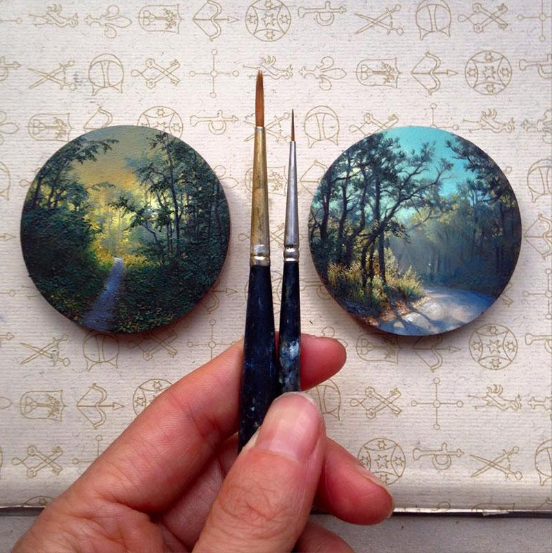 Miniaturbilder von Dina Brodsky